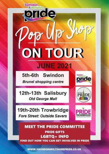 Pop Up Tour Poster